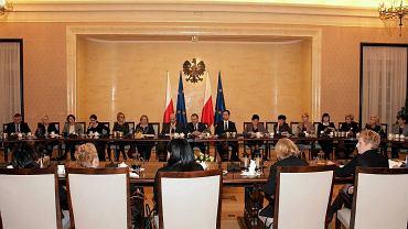 Spotkanie premiera z przedstawicielkami Parlamentarnej Grupy Kobiet