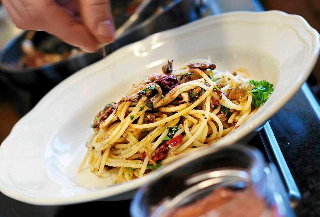 Spaghetti w 10 minut