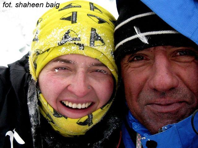 Agnieszka Bielecka i Shaheen Baig