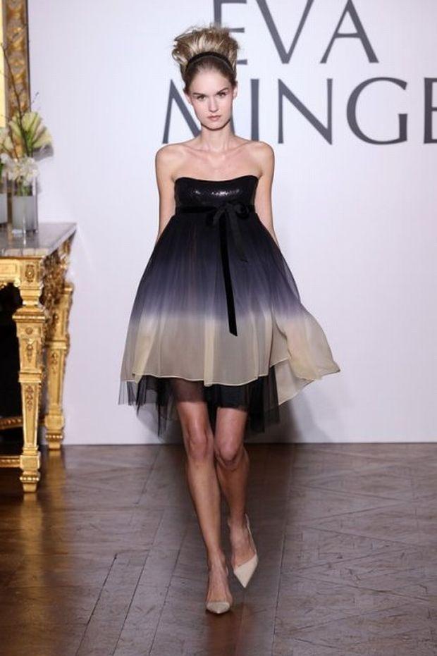 Eva Minge, pokaz mody, paryż