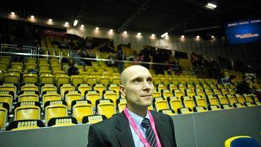 Trener Asseco Prokom Gdynia Andrzej Adamek