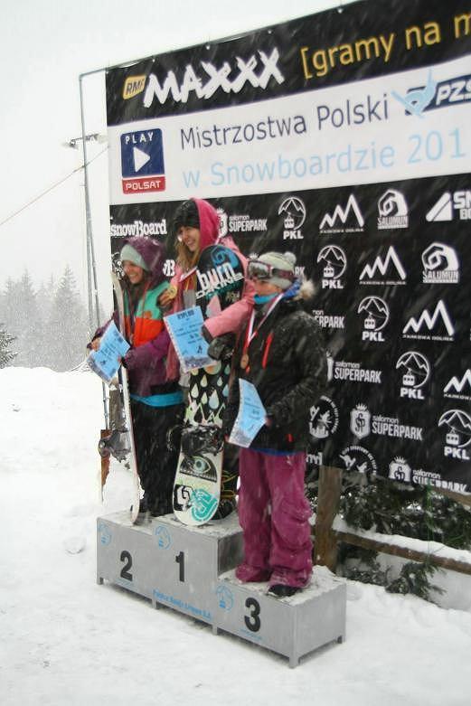 Kasia Rusin zdobywa cztery złote medale