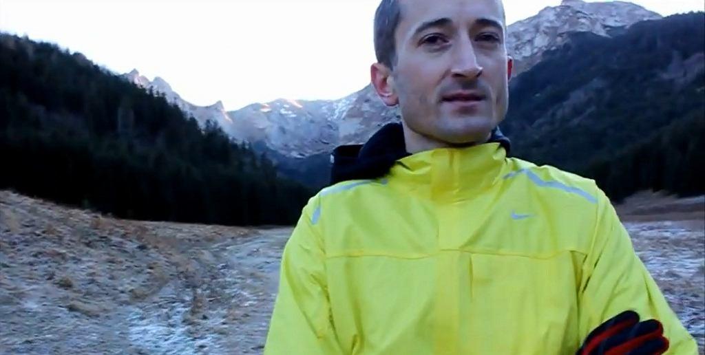 Henryk Szost - rekordzista Polski w maratonie (kadr z filmu Aleksandry Szmigiel)