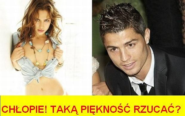 Irina Shayk, Cristiano Ronaldo.