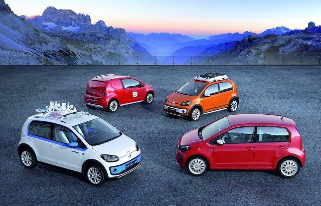 Genewa 2012 | Volkswagen Winter Up!, Cargo Up!, X Up! i Swiss Up!