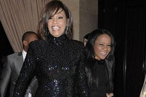 Whitney Houston i Bobbi Kristina Brown.