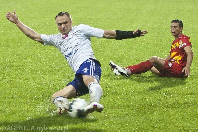 Adam Cieśliński, strzelec pierwszego gola dla Olimpii