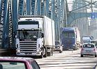 1,5 tys. tirów dziennie na toruńskim moście