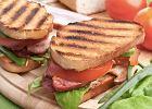 Kanapka BLT z bekonem, sałatą i pomidorem - Zdjęcia