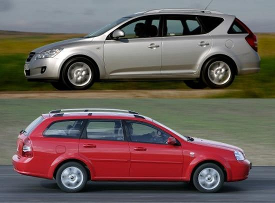 Kia Ceed vs Chevrolet Lacetti