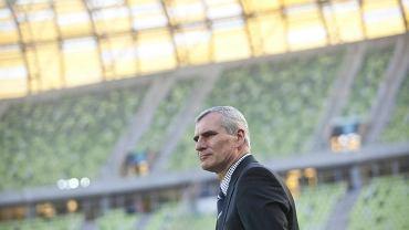 Trener Lechii Gdańsk Paweł Janas
