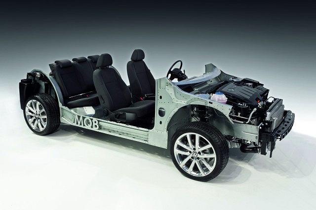 Volkswagen: płyta podłogowa MQB