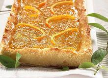 Mazurek pomarańczowy - ugotuj