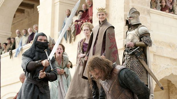 Gra o tron - Ned Stark zaraz straci głowę