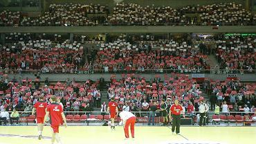 Podczas kwietniowego meczu Polska - Niemcy Ergo arena wypełniła się po brzegi