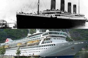 Titanic i Balmoral.