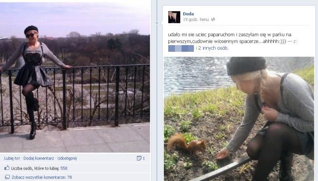 doda, doda wróciła do Polski