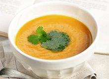 Zupa marchewkowo-pomarańczowa z kolendrą - ugotuj