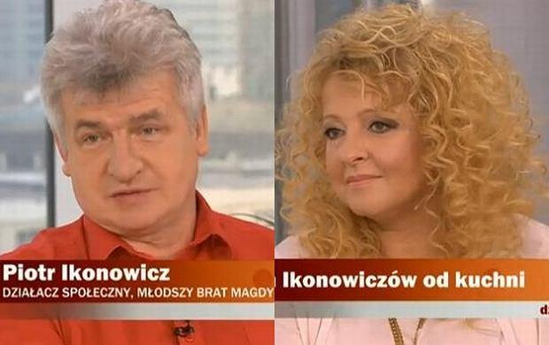 Magda Gessler, Piotr Ikonowicz.