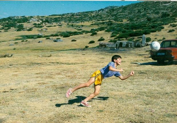 Mały Iker Casillas w roku 1988