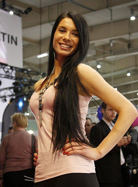Hostessy z Motor Show 2012
