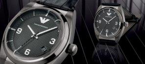 Zegarki Armani: kolekcja retro, kolekcje, moda męska, zegarki