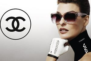 Linda Evangelista w okularach Chanel na lato 2012