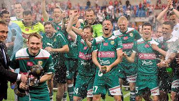 Piłka Śląska świętują wywalczenie mistrzostwa Polski w 2012 roku