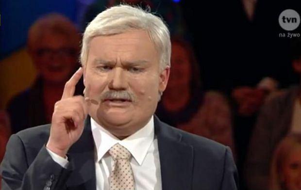 Parodia Lecha Wałęsy w programie
