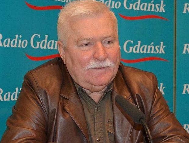 Lech Wałęsa w studiu Radia Gdańsk