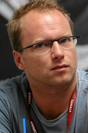10.05.2012 GDYNIA, MACIEJ SZTUHR PODCZAS KONFERENCJI NA 37 GDYNIA FILM FESTIWAL.  FOT. DOMINIK SADOWSKI / AGENCJA GAZETA
