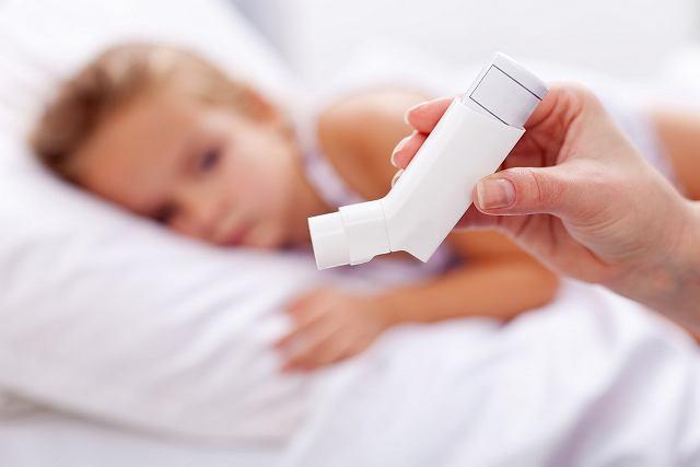 Według statystyk na astme choruje co dziesiąte dziecko
