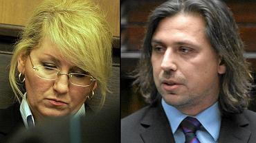 Beata Sawicka i Tomasz Kaczmarek