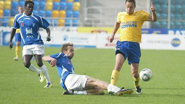 I liga piłki nożnej. Arka Gdynia - Wisła Płock 1:0