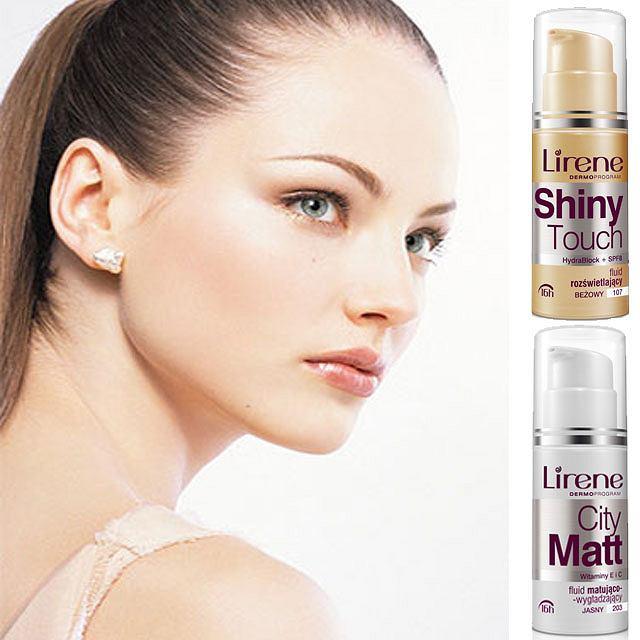 Lirene City Matt i Shiny Touch