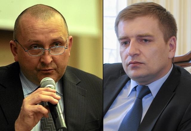 Jacek Paszkiewicz i Bartosz Arłukowicz