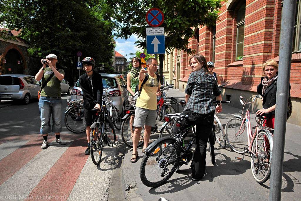 Warsztaty rowerowe poświęcone bezpiecznej jeździe po mieście