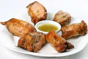 Coxa de frango (brazylijskie udka kurczaka z grilla)