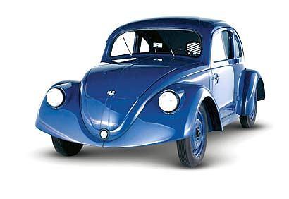 Volkswagen VW 30 - przedprodukcyjny egzemplarz popularnego garbusa 1936 r.