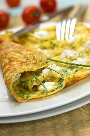Ziołowy omlet