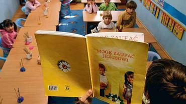 Lekcja religii w przedszkolu