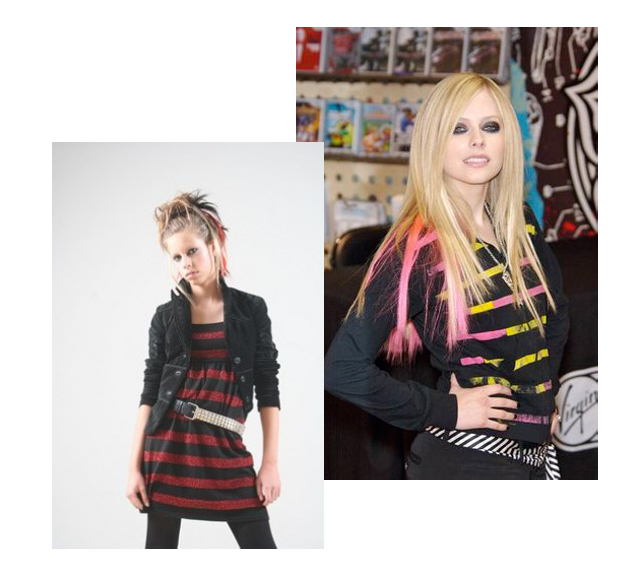 Ala Boratyn i Avril Lavigne