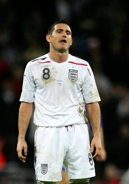 Sfrustrowany Frank Lampard
