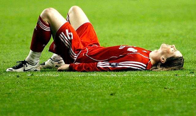 Torres załamany porażką