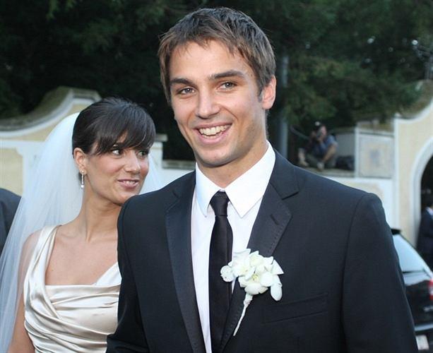 Niko Kranjcar z żoną