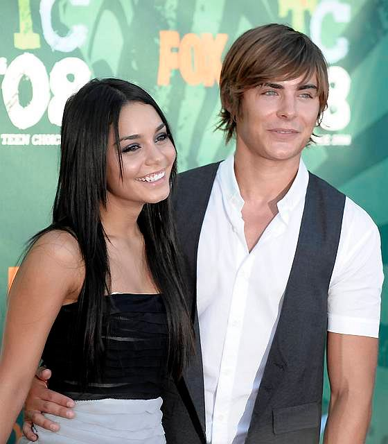 Zac Efron i Vanessa Hudgens na Teen Choice Awards