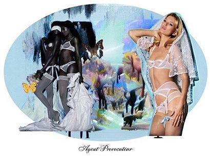 Fot. Nick Knight - www.agentprovocateur.com
