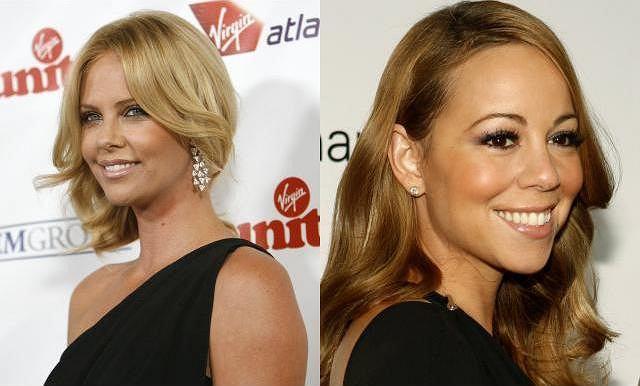 Mariah Carey i Charlize Theron fot. AG