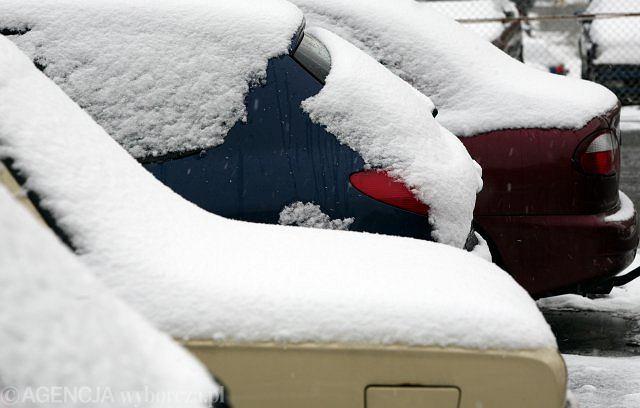 Zimą wszystkim jeździ się trudniej...