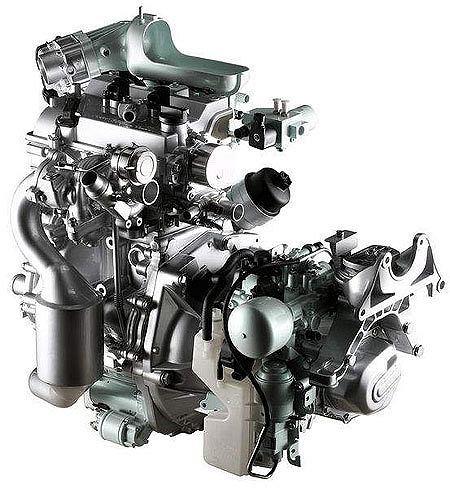 Dwucylindrowy silnik SGE konstrukcji Fiata